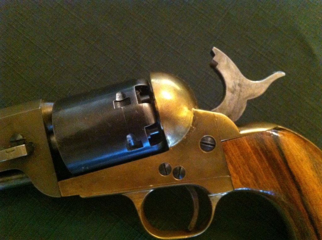 218: Connecticut Valley Arms Revolver with Engraving - 3