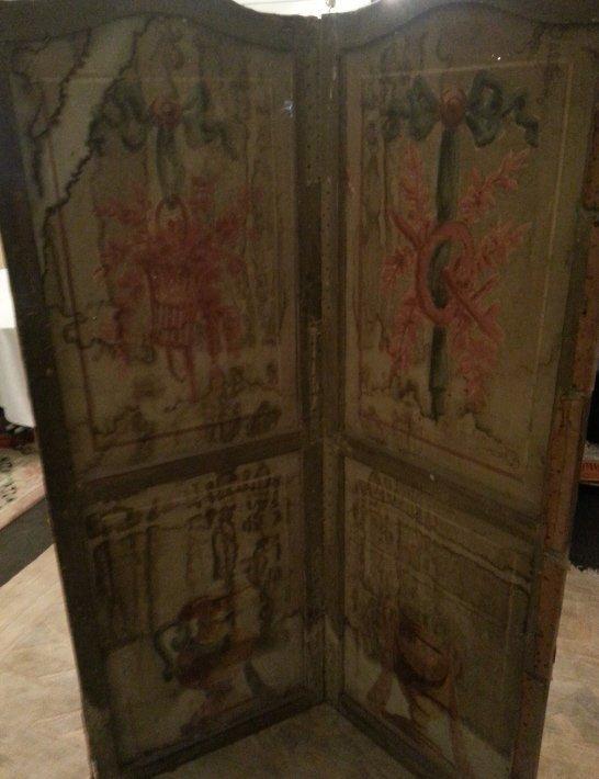 4: Early 19th Century Folding Screen
