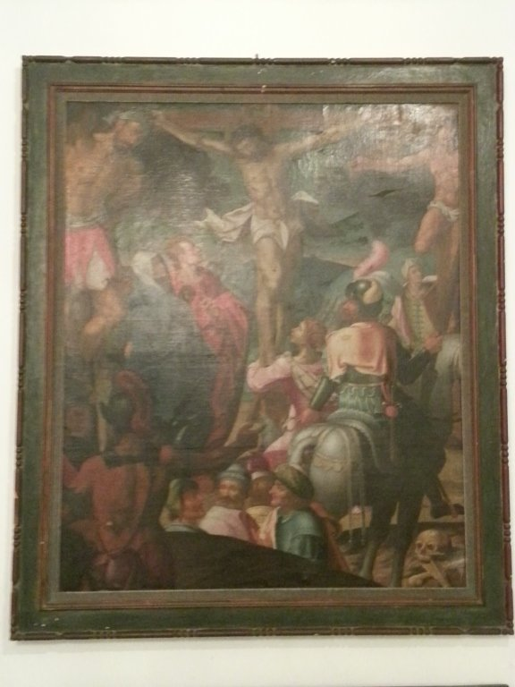 "13: Oil on Canvas, Flemish School, ""Christ"""
