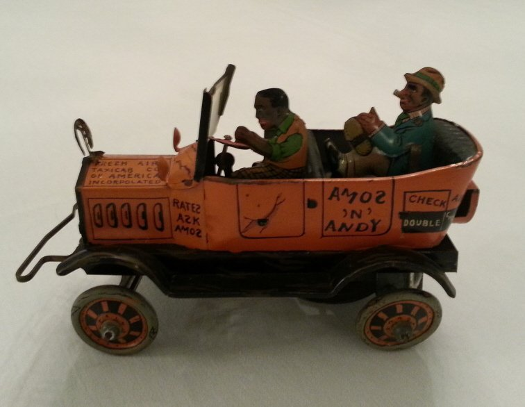 37: Amos 'N' Andy Metal Taxi Cab Toy