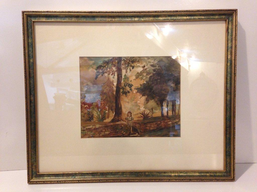Vera Spichernagel, Original Watercolor