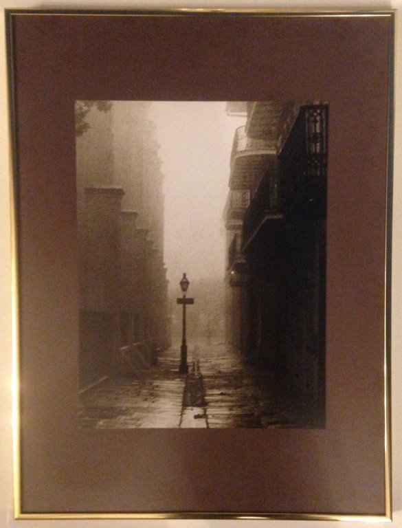 """John Donnelly, Photo of """"Foggy in Pirates Alley"""""""