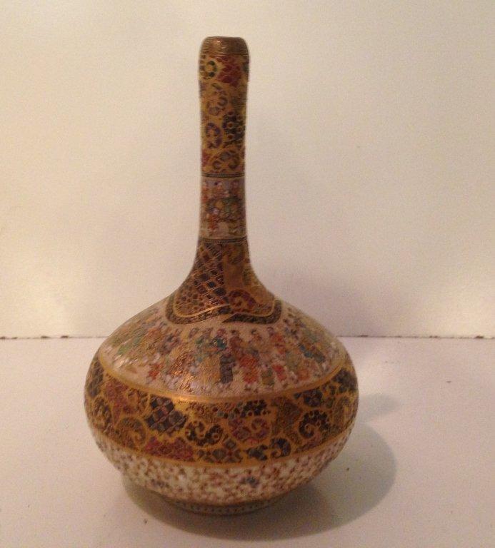Oriental Vase, Signed.