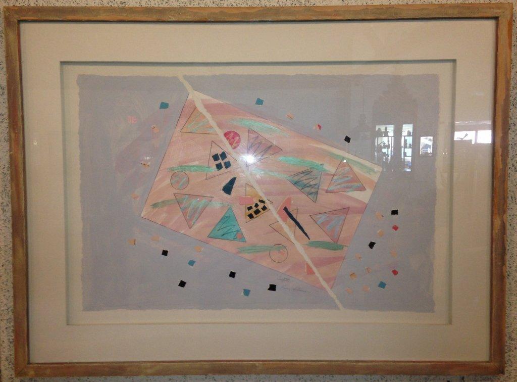 Karen Silverman Confetti Original, Signed.