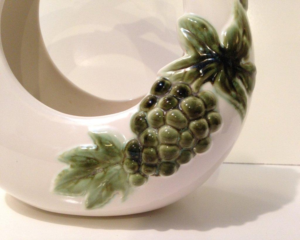 Johay Hull Art Pottery Basket - 2
