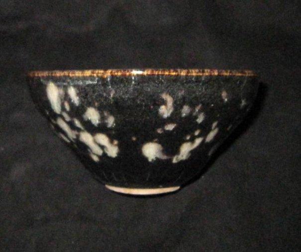 chinese cizhow kiln black bowl