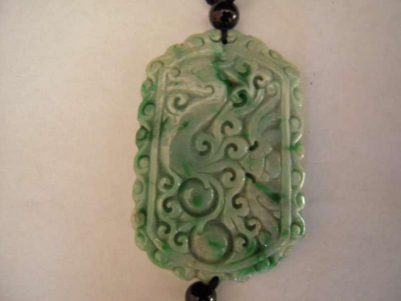 Chinese Class A Jadeite jade pendant