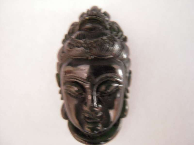 Chinese Black Jade Guang yin Avatar