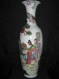 Famous Zhao Hui Mien Big Vase