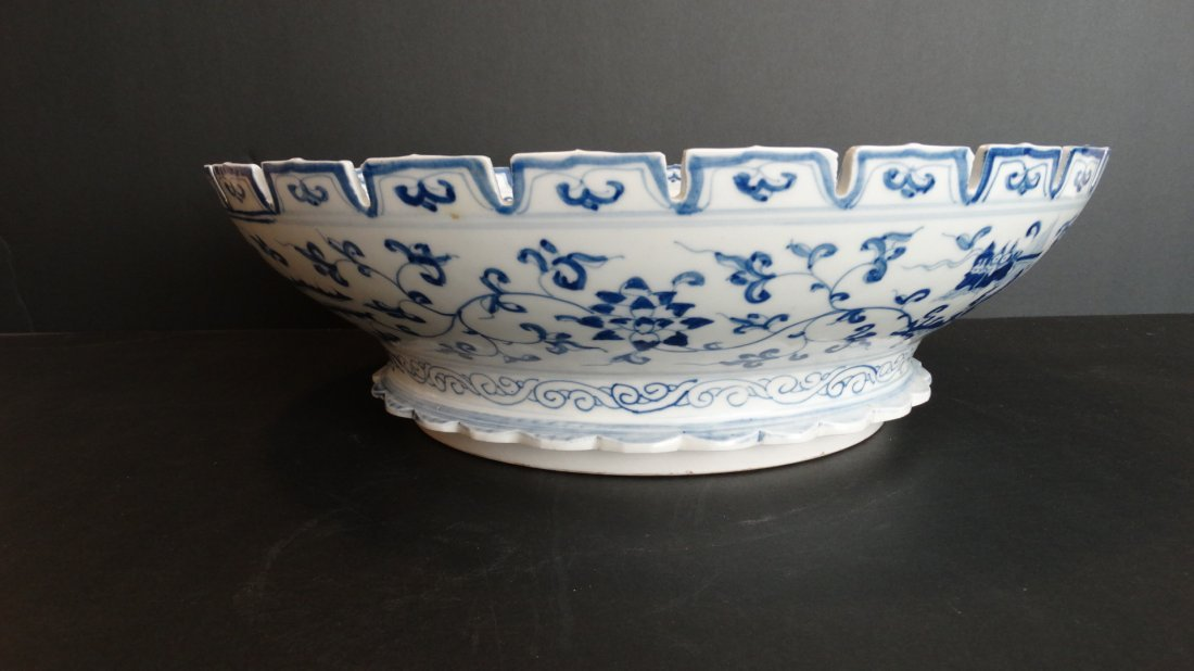 Large Ming Cheng Hua Blue & White ChargHua Charger