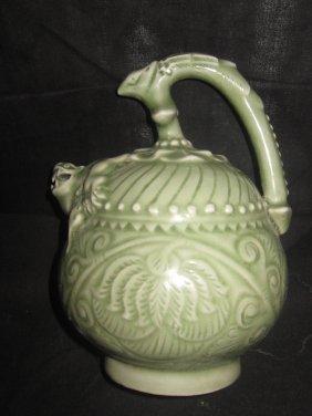 Chinese Yaozhou Kiln Tea Pot