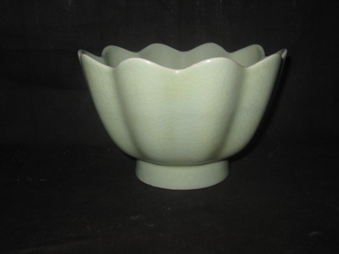 Chinese Ru kiln warm wine bowl  汝窑温