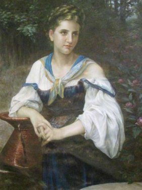 Portrait Of A Western Girl 西女肖