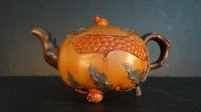 Chinese Jiangrong Purple Sand Tea Pot 蒋蓉
