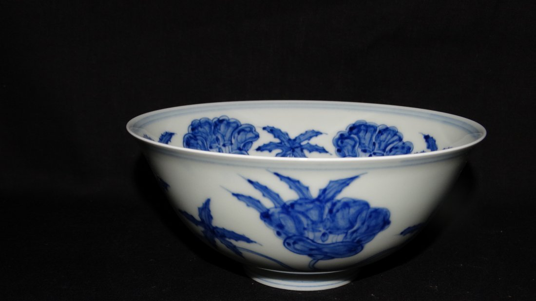 Chinese Ming chenghua palace bowl