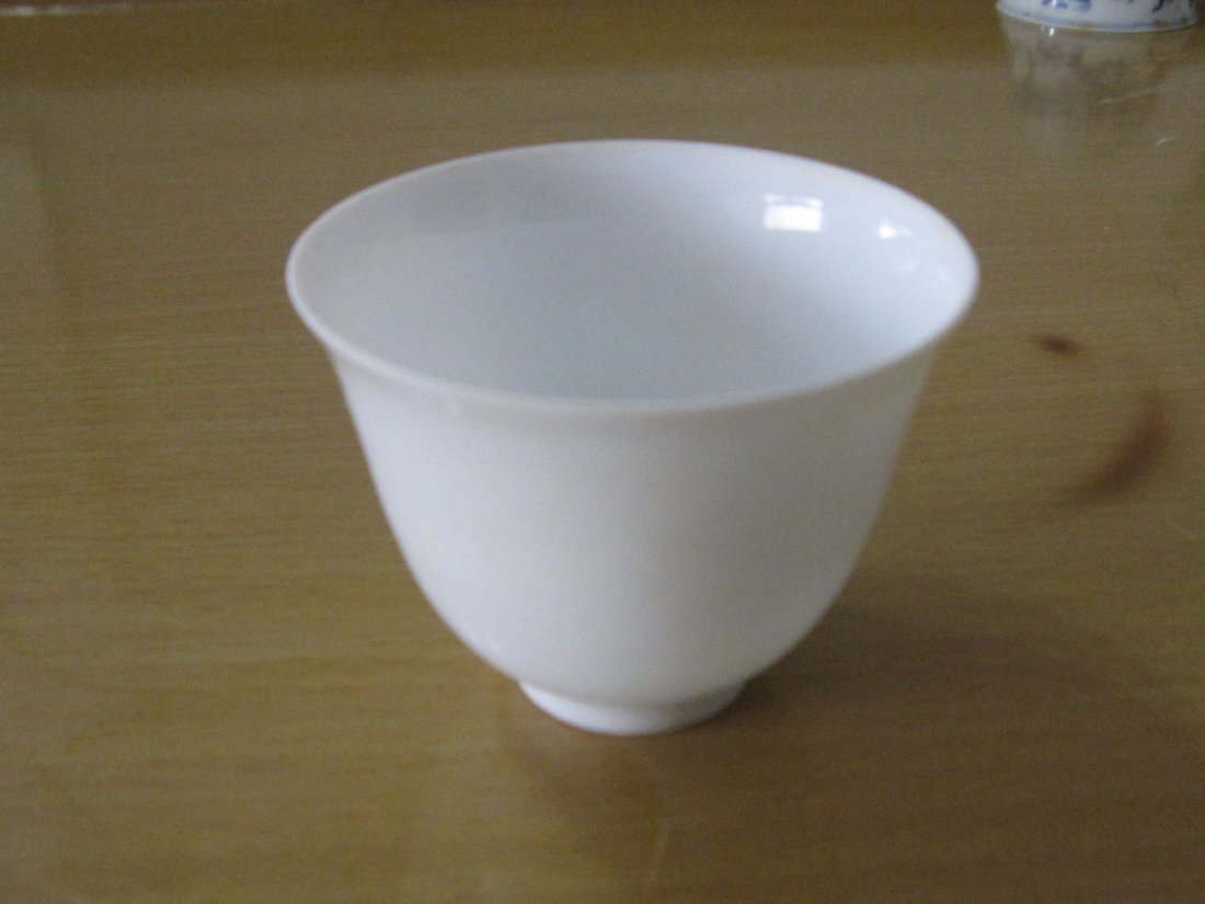Chinese chenghua white cup