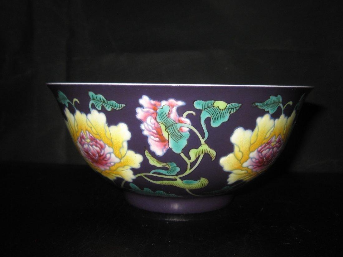 """Chinese Kangxi  a enemal bowl    D:6"""""""