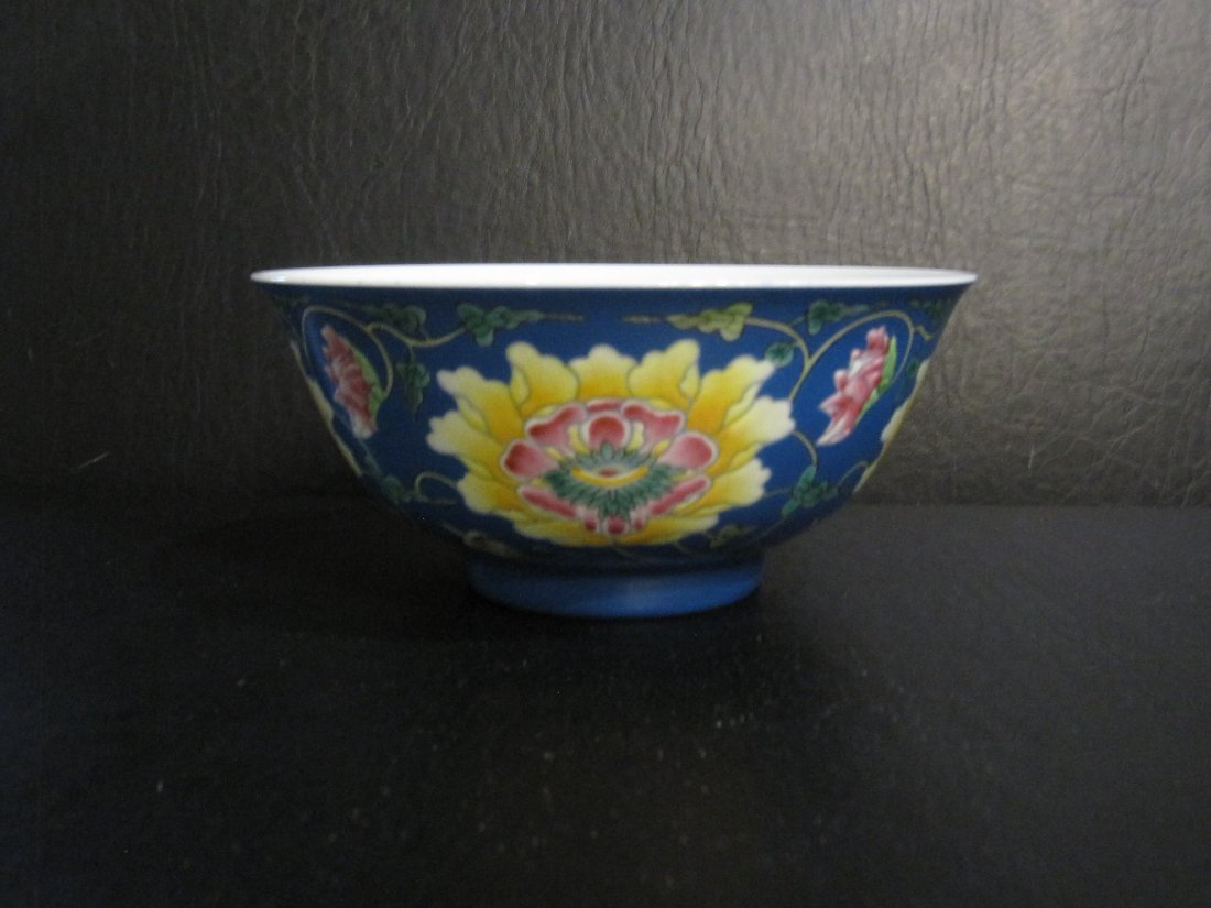 Chinese a enamel bowl