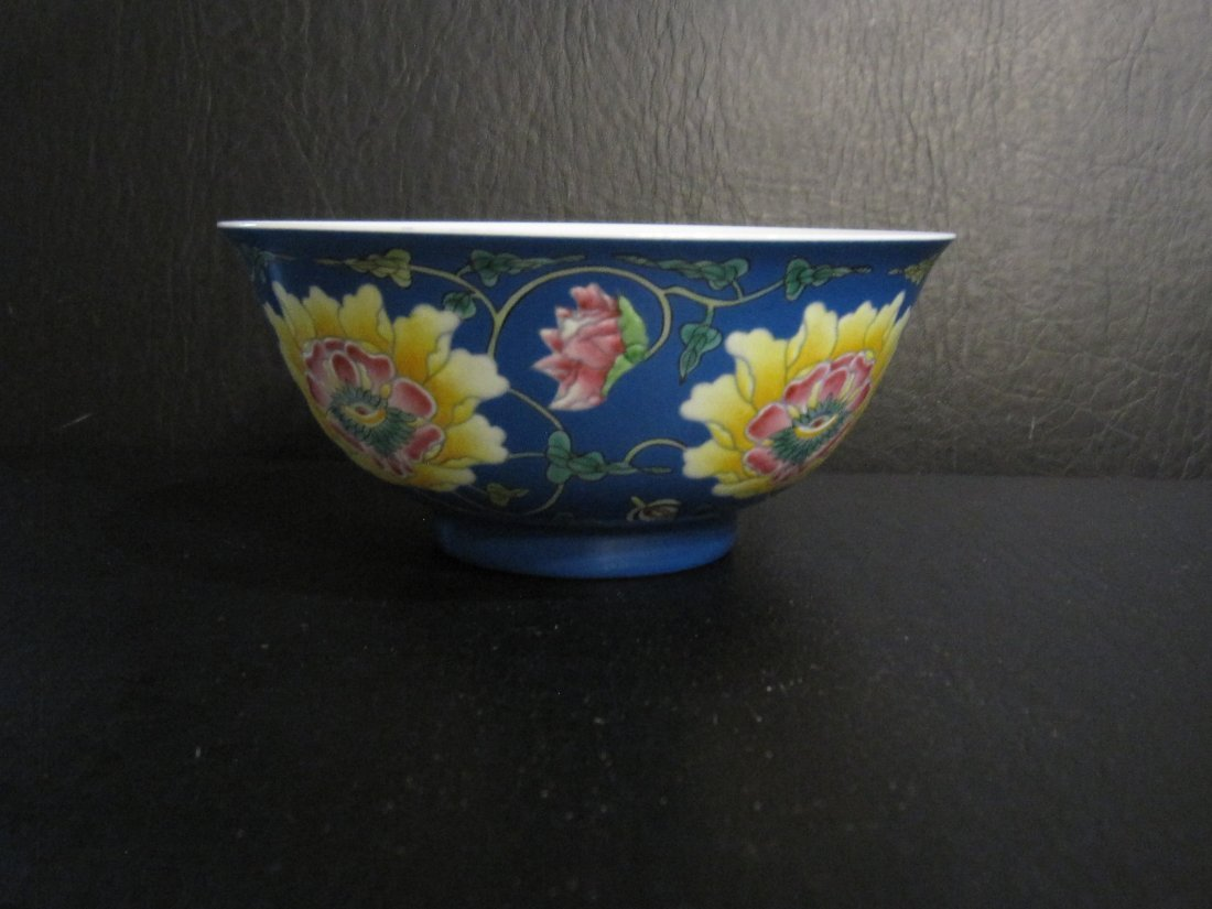 Chinese a enamel bowl - 2