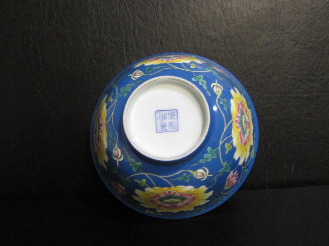 Chinese a enamel bowl - 4