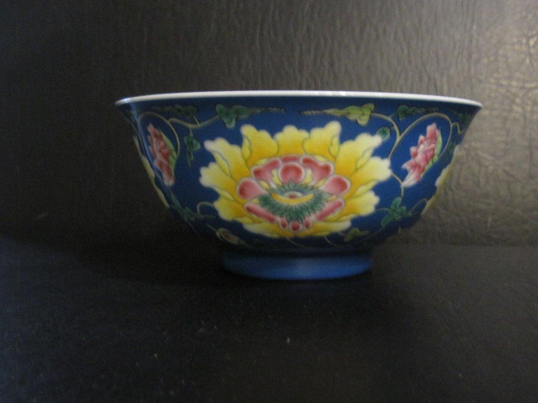Chinese a enamel bowl - 5