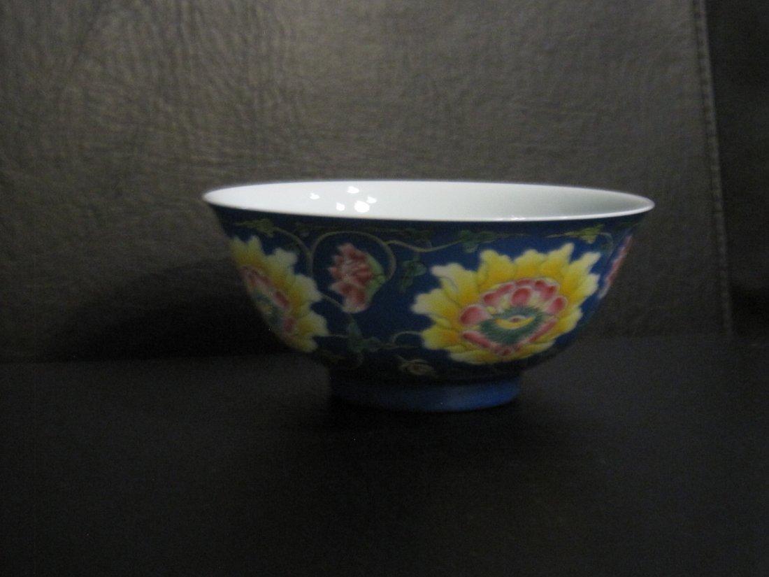 Chinese a enamel bowl - 6