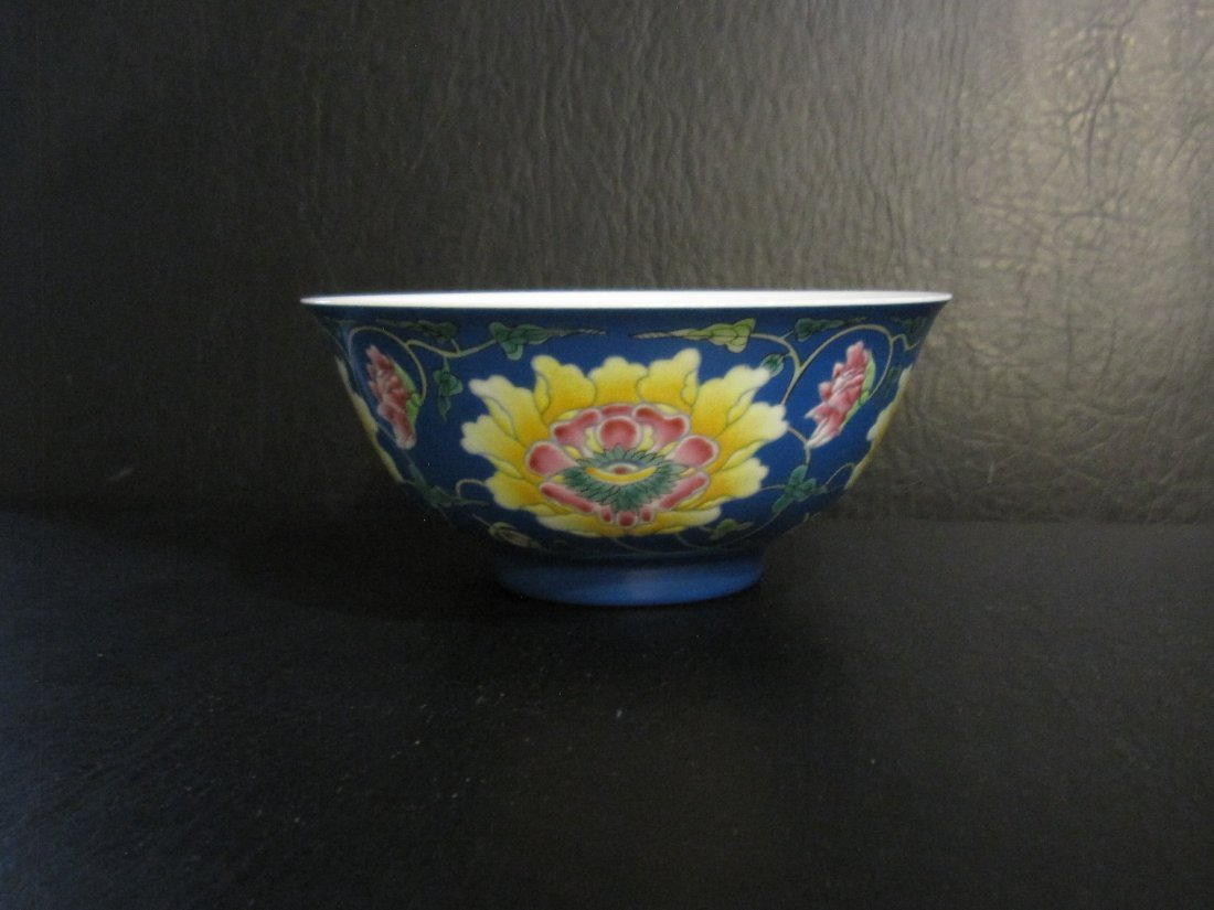 Chinese a enamel bowl - 7
