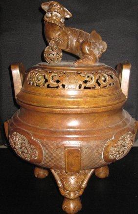 Chinese Ming dynasty large  incense burner