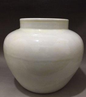chinese Ming yongle white large  tank