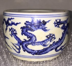 Chinese  Ming xuande Cricket tank