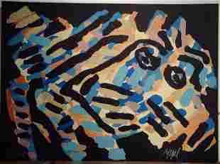 "Karel Appel, ""Black Monster"""
