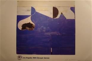 """Richard Diebenkorn, """"Los Angeles Olympic Games Pos"""