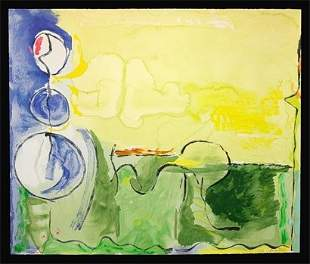 """Helen Frankenthaler, """"Flotilla"""""""