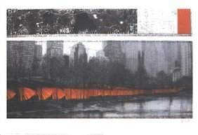 """Christo, """"The Gates, Project for Central Park, New"""