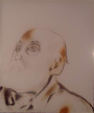 """Franceso Clemente, """"Untitled"""""""