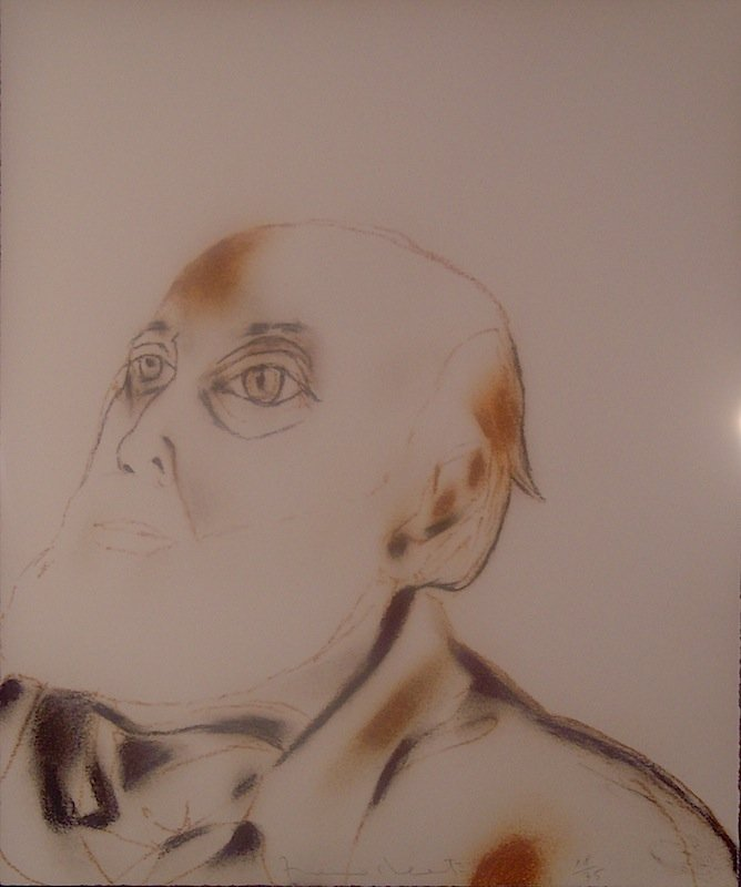 "122: Franceso Clemente, ""Untitled"""