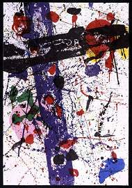 "145: Sam Francis, ""Untitled"""