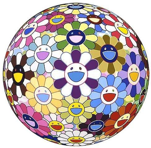 "Takashi Murakami, ""Flowerball-3D Kindergarten"""
