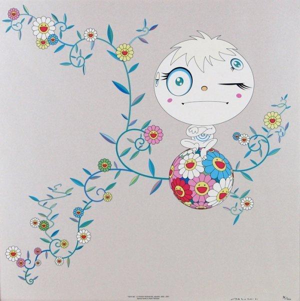 """Takashi Murakami, """"Genki Ball"""""""