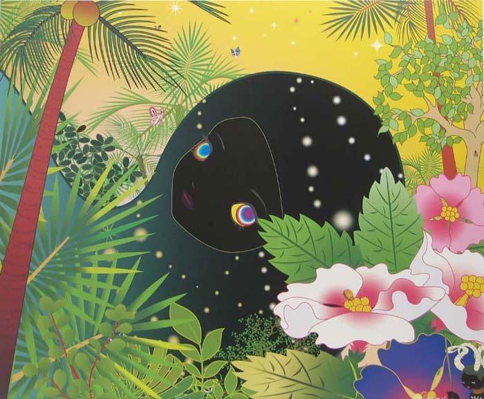 "Chio Aoshima, ""Building Head-Palm Trees"""