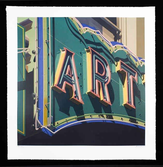 "Robert Cottingham, ""Art"""
