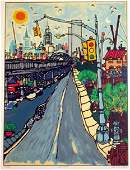 "Edward Sokol, ""West Street"""