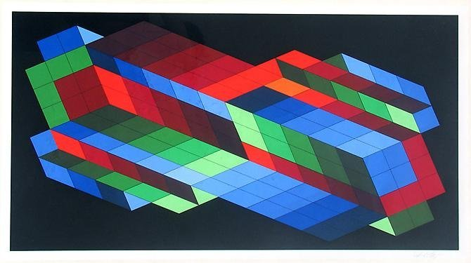 "Victor Vasarely, ""Untitled"""