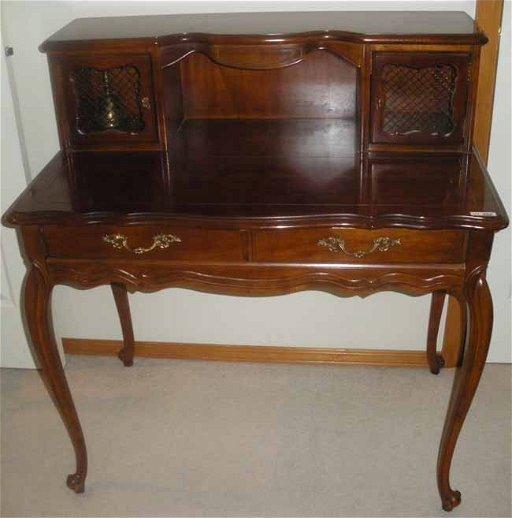 Queen Anne Desk >> 252 Queen Anne Style Hammary Mohogany Secretary Desk Jul 15 2012
