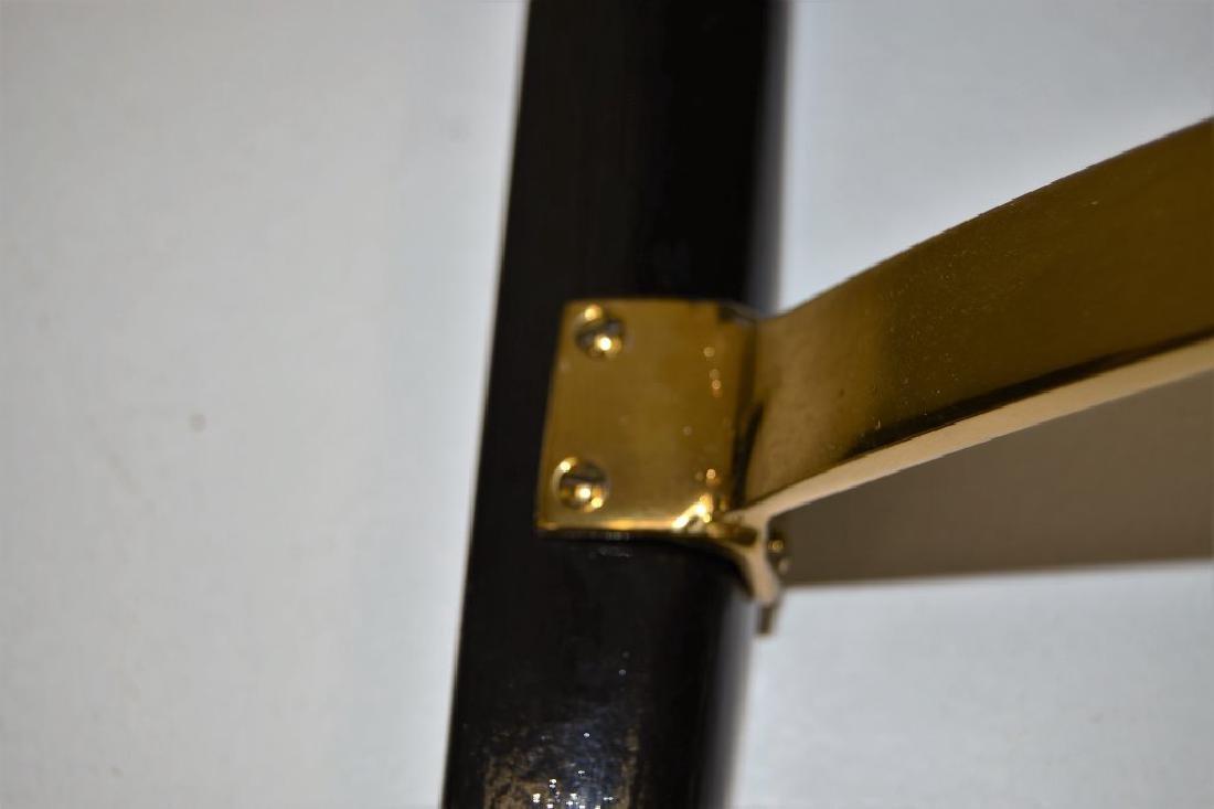 Dunbar Bench with Brass Stretcher - 4