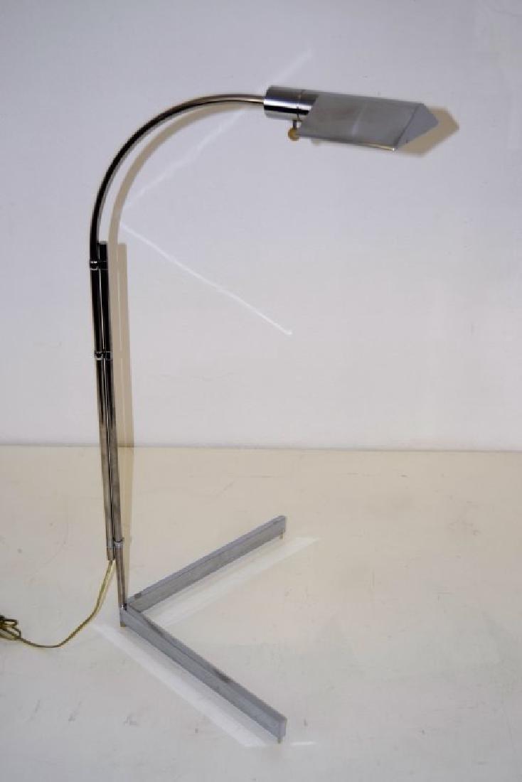 Cedric Hartman Chrome Adjustable Floor Lamp
