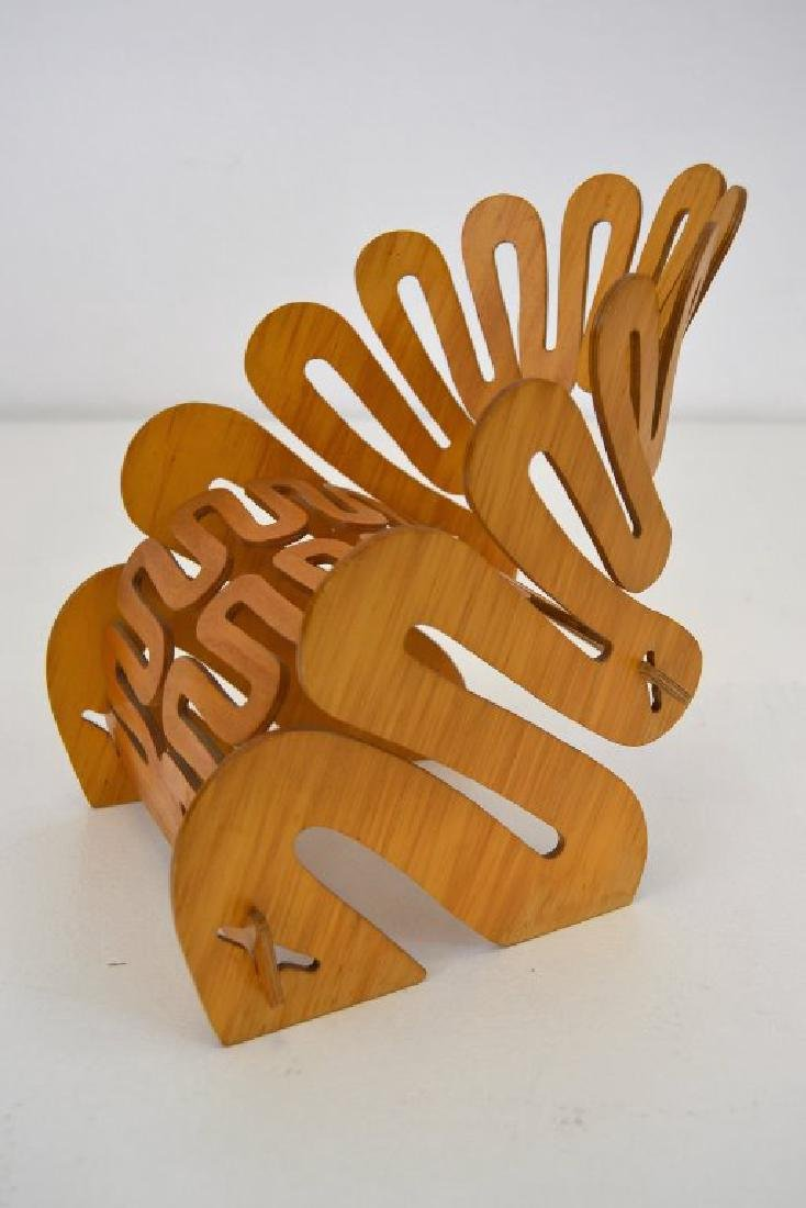 Gregg Fleishman Puzzle Chair Maquette Signed - 2