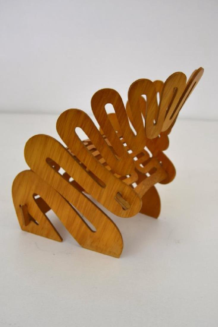Gregg Fleishman Puzzle Chair Maquette Signed - 6