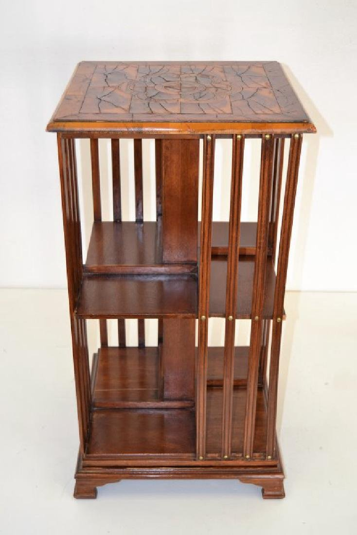 English 19th Century Revolving Bookcase