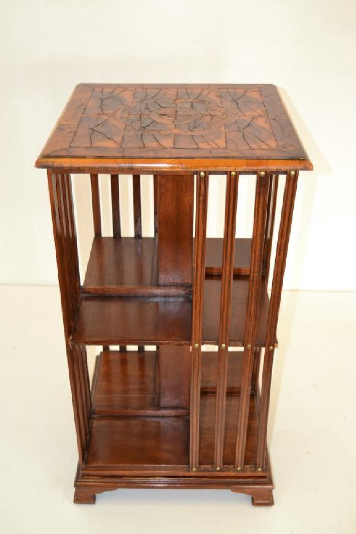 English 19th Century Revolving Bookcase - 2